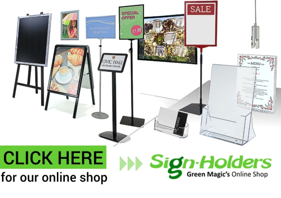 Click here for Green Magic's Online Shop